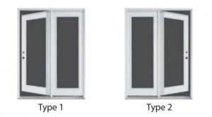Swinging Patio Door Options